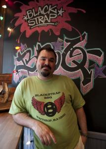 Chris Thompson of Blackstrap BBQ.