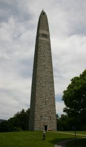 At 306 feet, the Bennington Monument is the tallest structure in Vermont.