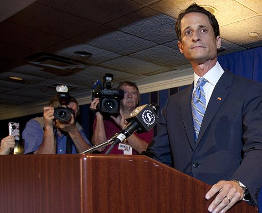 Representative Anthony Weiner, Democrat of New York, has made no public comments since a news conference Monday.