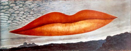 """Man Ray's """"Observatory Time — The Lovers.''"""