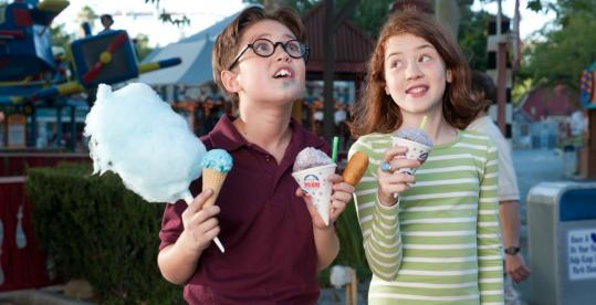 "Preston Bailey and Jordana Beatty in ""Judy Moody and the Not Bummer Summer.''"