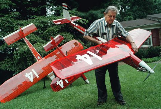Mr. Hill perfected a tiny engine that sipped two ounces of fuel per hour. He built 29 planes. The first 24 failed or disappeared.