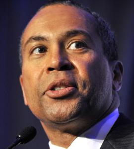 LOOKING FOR SOME HELP Deval Patrick is seeking the declaration for Hampden and Worcester counties, which suffered most from the storm.