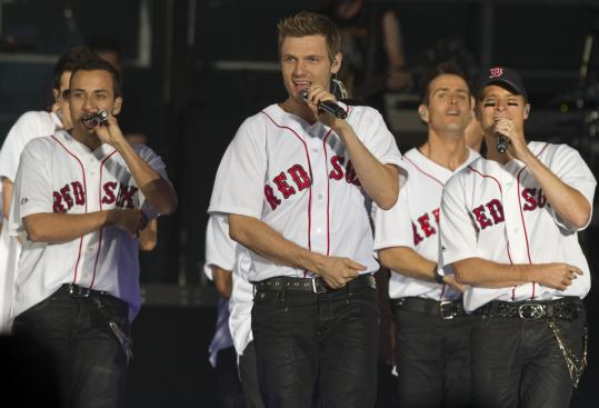 New Kids on the Block and Backstreet Boys delivered a set that was filled with their past glories.