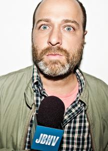 H. Jon Benjamin, who has voiced characters on a myriad of 'toon shows, stars in his own live-action Comedy Central show.