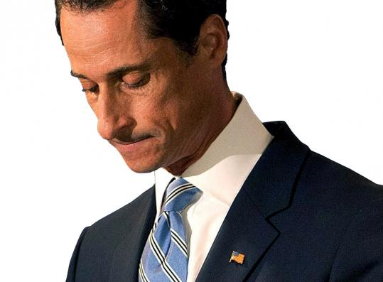 Representative Anthony Weiner, seen after leaving a June 6 conference, has been granted a two-week leave of absence.