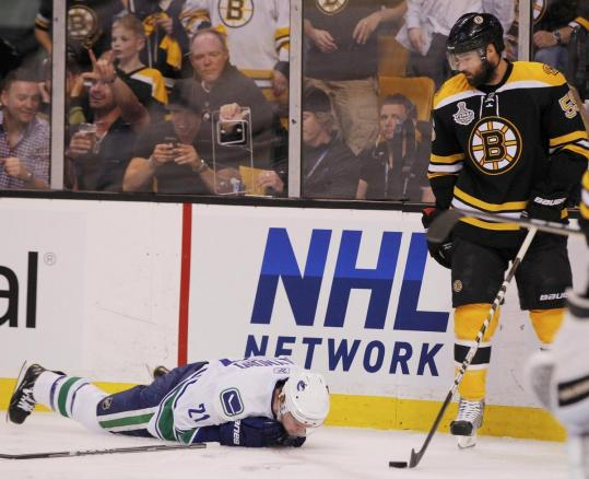 Johnny Boychuk will not be suspended after his early check in Game 6 knocked Mason Raymond out with a back injury.