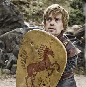 "Peter Dinklage stars as Tyrion Lannister — the witty, wily ""half man'' — in HBO's ""Game of Thrones.''"
