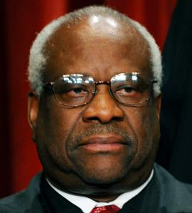 JURIST IN SPOTLIGHT Legal ethicists have questioned Clarence Thomas's relationship with a real estate magnate who financed the justice's pet project.