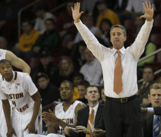 Steve Donahue went 21-13 in his first year as men's basketball coach, though the team missed the NCAA tourney.