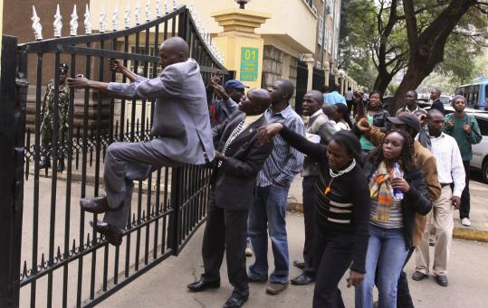 Kenyan activists called for the arrest of the Ministry of Education's director, Sam Ongeri, after $45 million was stolen.