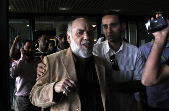 Hasan Mushaima, a Bahraini Shi'ite opposition leader, was among eight activists sentenced to life in prison yesterday.