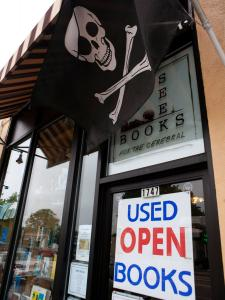 Seek Books, which occupies 650 square feet in West Roxbury, was opened two years ago because its owner saw a need for a science fiction bookstore.