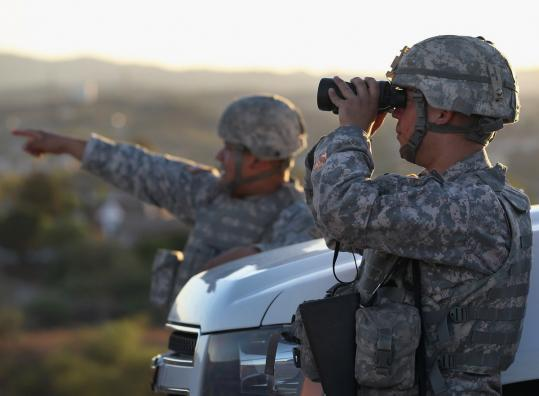 It cost $110 million to deploy 1,200 National Guard troops for one year along the US-Mexican border.