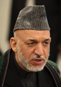 "Karzai indicated Pakistani government forces were responsible, and the attacks ""should be stopped immediately."""