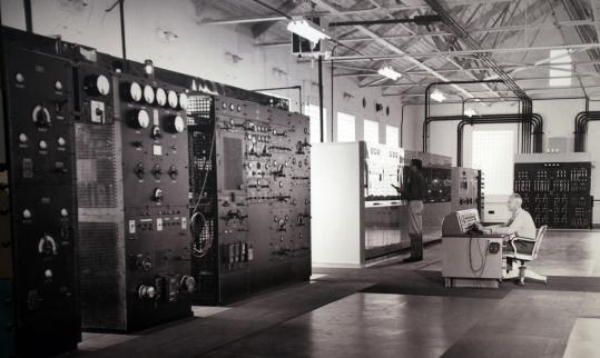 A file photo showed the interior of the converted World War II wireless receiving station in Chatham.