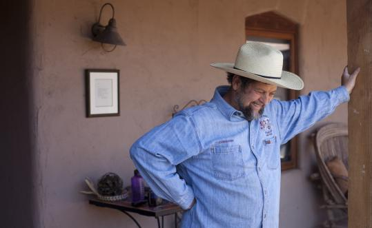 Gary Paul Nabhan, known for his books on preserving agricultural traditions, lives with his wife, Laurie Monti, on six acres in Patagonia, Ariz., where they grow chilies, herbs, olives, pomegranates, almonds, and other heirloom crops.