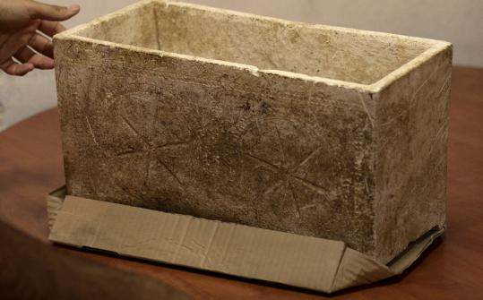 Israeli scholars said the 2,000-year-old box has the name of a relative of the high priest Caiaphas mentioned in the Bible.