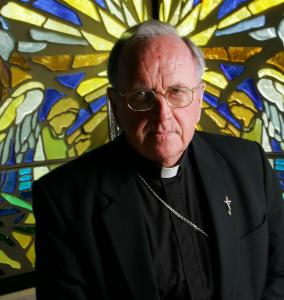 Bishop Daniel Walsh's diocese has been hit with several lawsuits.