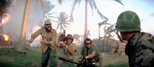 Director Francis Ford Coppolla appeared briefly in 'Apocalypse Now.'