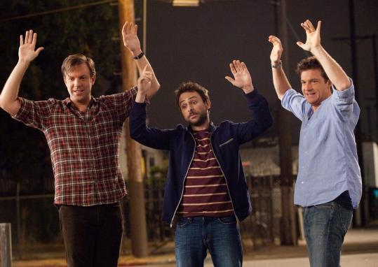 """Horrible Bosses'' director Seth Gordon wanted to use television actors in the roles of the abused employees who want to kill their bosses so he cast (above, from left) Jason Sudeikis, Charlie Day, and Jason Bateman."