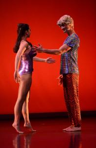 Lucie Baker and Sean Donovan as Barbie and Ken in 'Beauty.'