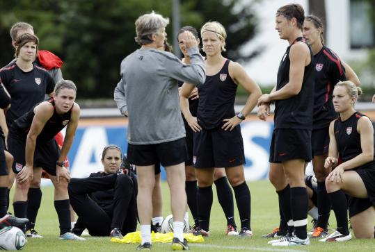The US women's soccer team, still a powerhouse, has been listening to the advice given by coach Pia Sundhage about changing its style.