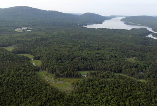 The developer who sold Kitteredge Brook Forest, on a scenic island off Maine, at a discount to Maine Coast Heritage Trust this week will get a $2 million tax deduction.