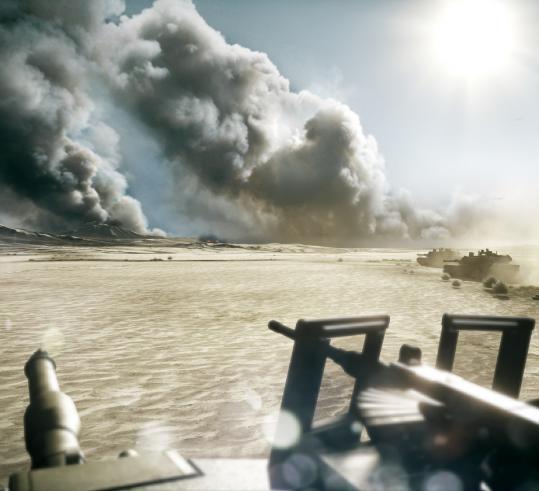 """A scene from """"Battlefield 3.''"""
