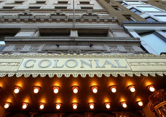 The Colonial Theatre will shut this weekend. Emerson College, which owns the theater, has not secured a tenant.