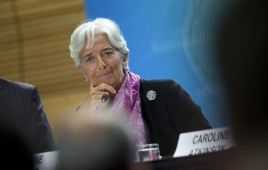 Christine Lagarde, new managing director of the International Monetary Fund, is preparing for a board meeting tomorrow to consider further funding for financially struggling Greece.