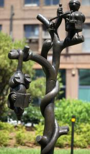 """Tom Otterness's """"Tree of Knowledge'' is the type of public art that the city needs more of."""