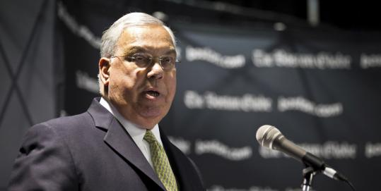 """""""Boston took part in Secure Communities . . . with the understanding that only the most serious criminals would be affected,"""" said Mayor of Boston Thomas M. Menino."""