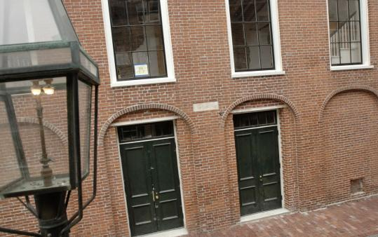 "The African Meeting House on Joy Street on Beacon Hill is one of the sites mentioned in ""Walking Tours of Civil War Boston.'' It has served as a church, school, and a meeting place."
