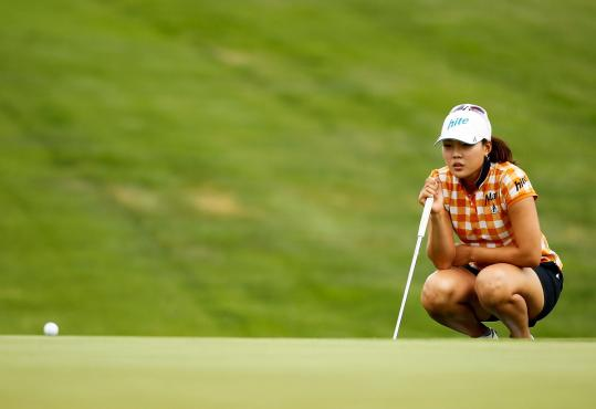 Hee Kyung Seo had a pair of 68s yesterday, and is lined up to collect the US Open trophy today.