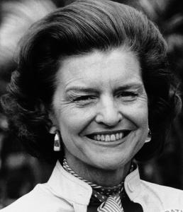 Then-first lady Betty Ford in 1975.