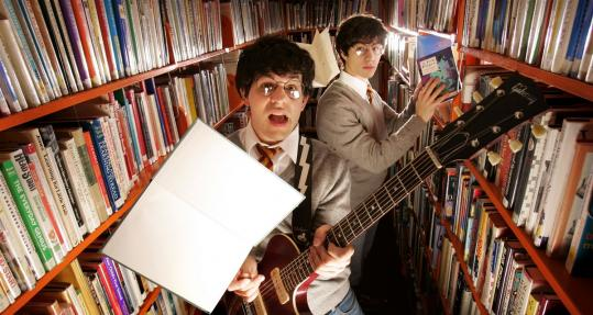 Paul and Joe DeGeorge make up the band Harry and the Potters. They base their songs on material from the Harry Potter books and perform at bookstores and libraries.
