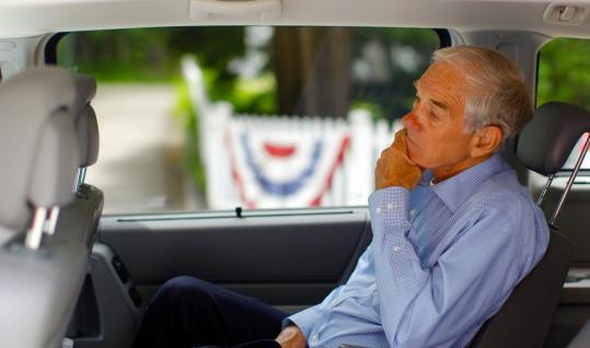 The crowded GOP field - including others with an antitax playbook - could hurt Representative Ron Paul of Texas.