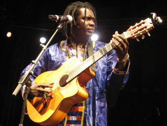 Senegal native Yoro Ndiaye will perform at the French Cultural Center's Bastille Day party.