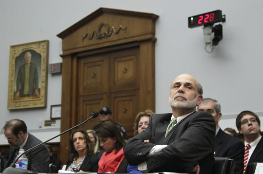 """We have to keep all options on the table,'' Federal Reserve chairman Ben Bernanke told the House Financial Services Committee yesterday. He warned that a failure to raise the nation's borrowing limit by Aug. 2 could trigger a major financial crisis."