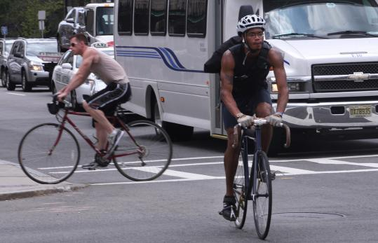 Boston police plan to target 10 high-crash intersections where accidents between cars and bicycles are prone to occur. They will educate motorists and cyclists as well as hand out tickets, but they did not disclose which corners will be monitored.