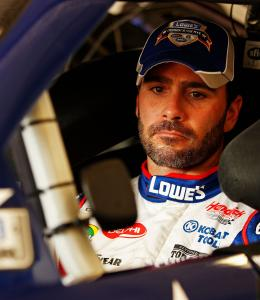 Jimmie Johnson, who has won five straight Cup championships, will be back in New Hampshire Sunday to defend his Lenox 301 crown.
