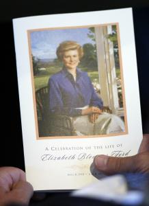 Betty Ford was laid to rest in her Michigan hometown.