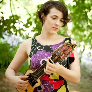 Guitar, ukulele, and charango work is central to the sound of Becca Stevens, the bandleader of a quartet.