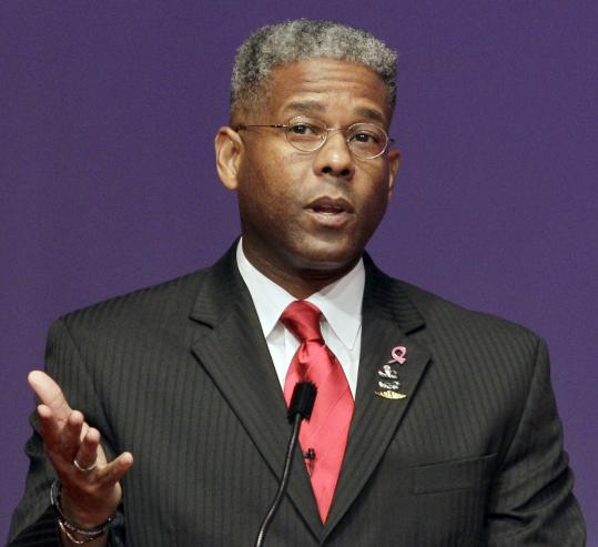 "US Representative Allen West, a Florida Republican, says that failing to raise the debt ceiling would not be ""catastrophic.''"