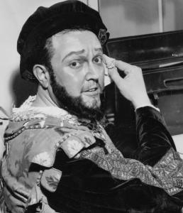 "Cornell MacNeil, pictured at his debut as Carlo in Verdi's ""Ernani'' at La Scala in Milan in 1959."