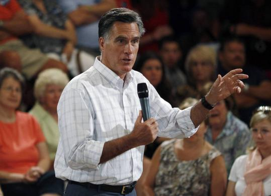 Mitt Romney has relied heavily on a fund-raiser who has lobbied on behalf of a large mortgage service provider.