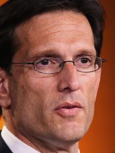 House Majority Leader Eric Cantor
