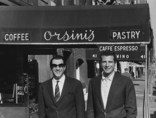 Brothers Elio (left) and Armando Orsini at their restaurant.