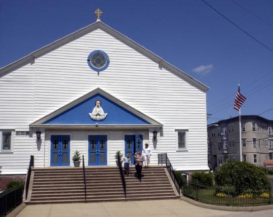 Our Lady of Lourdes Church, on Endicott Avenue in Revere, was ordered closed in 2004.